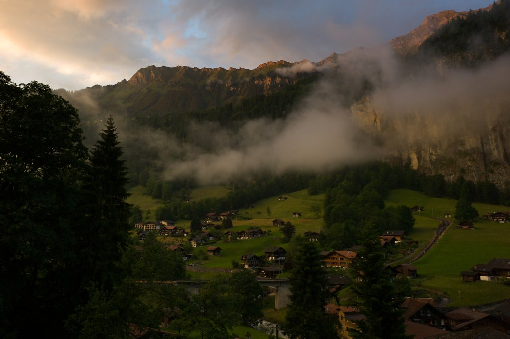 Lauterbrunnen at Golden Hour