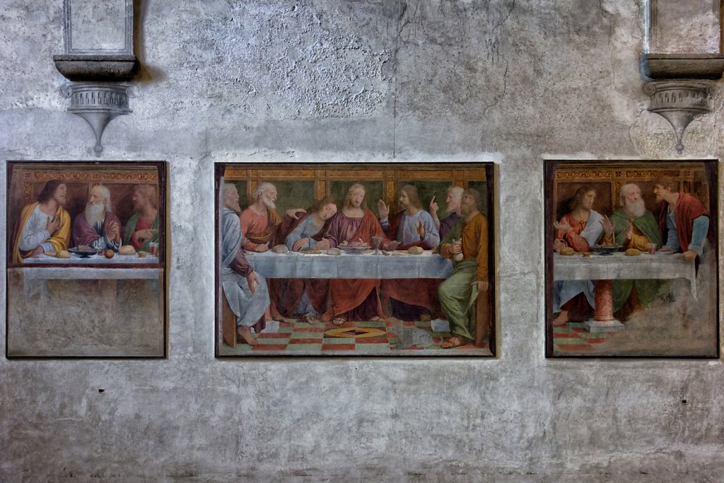 Last Supper by Bernardino Luini